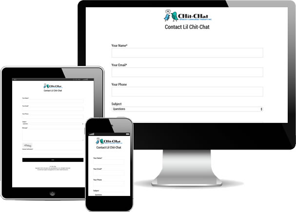 3 Device Mobile Responsive Forms